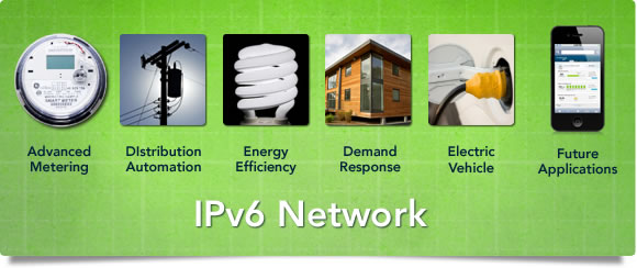 Smart Grid Platform Standards-Based IPv6 Network